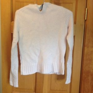 GAP Cable knit sweater light mauve size small